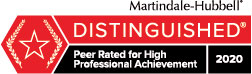 Martindale Hubbel Preeminent Rating